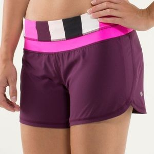 💗Lululemon Groovy Run Short-Plum Pow💗